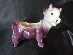 Your place to buy and sell all things handmade Purple Cow, Cows, Piggy Bank, Planters, Pottery, Christmas Ornaments, Holiday Decor, Unique Jewelry, Handmade Gifts