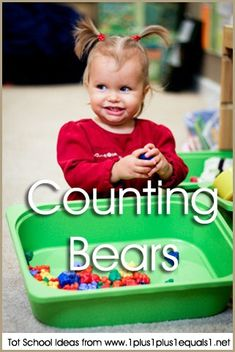 Tot School Counting Bears 12-18 Months