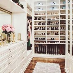 This closet is everything!
