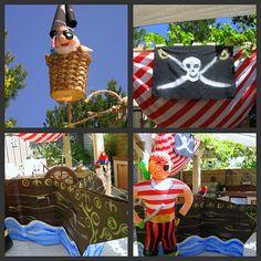 Pirate party decor
