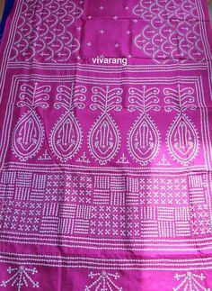 Kasuti Embroidery, Hand Embroidery, Embroidery Designs, Yellow Kurti, Kutch Work, Indian Silk Sarees, Mirror Work, Pure Products, Unique
