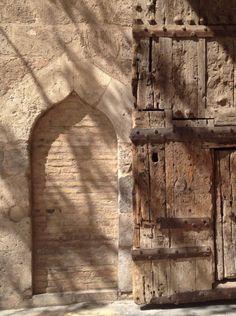 Detalle Puerta Torres de Serranos Alicante, Wabi Sabi, Audrey Hepburn, Nostalgia, Spain, Stone, Painting, Valencia Spain, 21st Century
