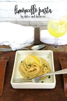 limoncello pasta