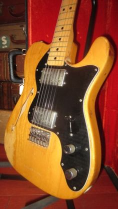 1974 Fender Telecaster Thinline Natural > Guitars : Electric Semi-Hollow Body - Rivington Guitars | Gbase.com