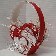 pinterest valentine treat holders ideas | Valentines Crafts