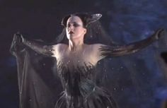 The Queen of the Night (The Magic Flute)  She is the amazing soprano Diana Damrau <3