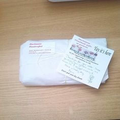 A Martisanne Handmade parcel ready to go