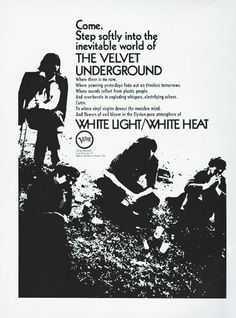 White Light/White Heat by The Velvet Underground 1968.