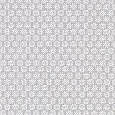 kankaita.com Cotton Pastellikukka 2 - Puuvilla - harmaa