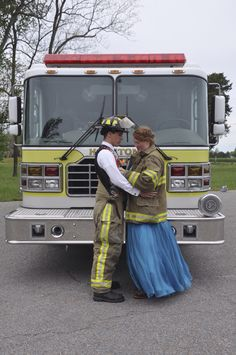 Firefighter prom