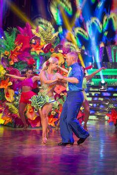SCD week 9, 2016. Judge Rinder & Oksana Platero. Salsa.  Credit: BBC / Guy Levy