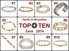 TOP 10 Amazing Deals on Bracelets (June 2014). Learn more -- https://www.facebook.com/AmazingDailyDealsSite