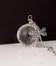 Dandelion seed necklace Christmas gift for women Best friend #dandelion #seed #necklace #realflowers #Christmas #gift #giftforwomen