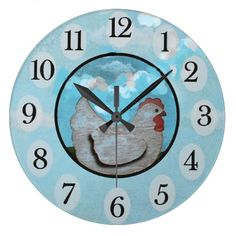 Chicken time/wall clock