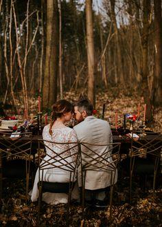 Een styled shoot in barok style. Looks amazing! Deze barok style in het bos is helemaal hip. Te leuke barok inspiratie voor je wedding toch?