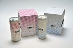 take energy drink by Anna Duboczky, via Behance