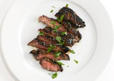 The Restaurant Recipes Our Readers Requested for Our August Issue:  Coffee marinated skirt steak