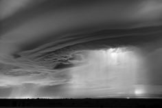 Incredible storm photos--'Saucer and Lights' Byers, Colorado, 2014