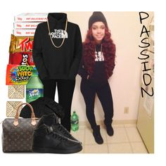 Passion 4Fashion by shygurl1 on Polyvore featuring polyvore fashion style Cheap Monday NIKE WGACA Michael Kors ASOS Junk Food Clothing