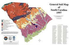 Maps geologic map of south carolina sc dnr for South carolina soil