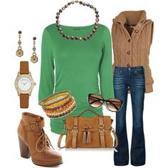 """Autumn Outfit"" by stigro on Polyvore"
