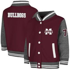Mississippi State Bulldogs Colosseum Toddler Sophomore Jacket - Maroon - $29.99