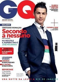 Cristiano Ronaldo: Capa da GQ Italia