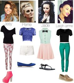 Designer Clothes, Shoes & Bags for Women Little Mix Style, My Style, Celebs, Celebrities, People, Polyvore, Stuff To Buy, Shopping, Collection