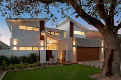 modern beach house skillion double - Google Search
