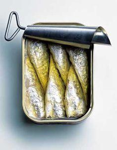 """la """"clé"""" à sardines, pour ouvrir les boites"""