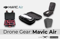 The DJI Mavic Air. It is such a compact and sturdy little drone. But there is only so much stress a drone can handle when it is just heavy (or in fact… light! Whether you want to store your drone at home, or if you want to bring it when visiting a … Drones, Drone Quadcopter, Mavic Drone, Small Case, Drone Technology, Camera Settings, Camera Gear, Cool Backpacks, Drone Photography