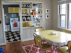 Image result for kitchen black and white tile floor