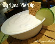 Key Lime Pie Dip - South Your Mouth (Serve with graham crackers)