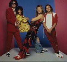 Van Halen 1984 Photoshoot