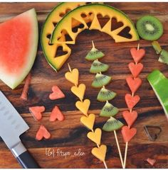 LS clean eating healthy food. cute idea for kids. My little one LOVES fruit!