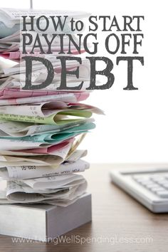 Overwhelmed by debt?  Seeing those bills pile up each month can be scary, especially when you don't have a plan to dig yourself out of the hole.  If you're not sure where to even begin to get your financial life back on track, don't miss these practical tips for how to start paying off debt.