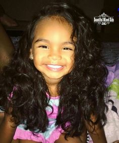 Deshanti - 2 Years • African American, Mexican & Native American ❤ FOLLOW @beautifulmixedkids on instagram