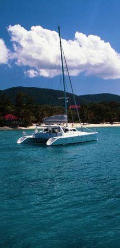 Sailing Catamaran Infinity, Soper's Hole, Tortola, BVI
