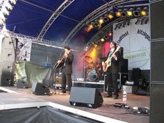 On stage in Kitzingen, 4.6.2011