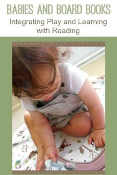 Add fun to reading time with your baby with these simple activity suggestions.