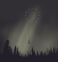 anchored stars