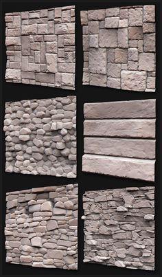 Zbrush and Mudbox Sculpts : Texture and Shader