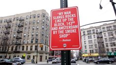 "Redman ""RAP QUOTES"" Signs in New York"