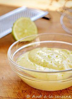 Mayonnaise au citron vert