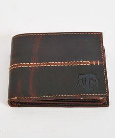 Custom 1 inch Texas Mason Camo Corner long wallet