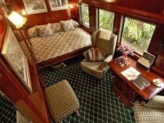 Mit einem rollenden Luxus-Hotel durch Südafrika: Rovos Rail   http://www.ewtc.de/Suedafrika/Rovos-Rail/Hotel/Rovos-Rail.html#