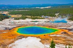 Park Yellowstone jest najstarszym na świecie, bo utworzonym 1 marca 1872 roku, terytorium rezerwatu znajduje się na pograniczu 3 stanów: Idaho,