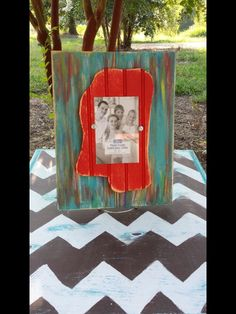 Mississippi+Distressed+Picture+Frame+by+DurioDesigns+on+Etsy,+$19.99