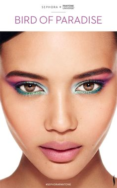 Let #RadiantOrchid inspire your beauty in 2014. Look created with the #Sephora + @PANTONE COLOR COLOR OF THE YEAR Collection. #howto #makeuptutorial #SephoraPantone
