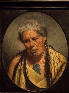 british museum portraits maori - Google Search